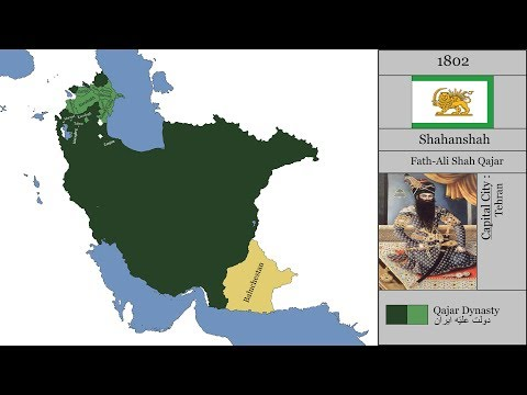 The History of Iran/Persia : Every Year