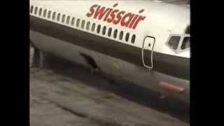 SWISSAIR MD-81 HB-INX ZURICH - FRANKFURT AUGUST 21, 1997 This rather unspectacular video clip features an afternoon ...