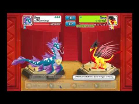 Dragon city Pure Water Dragon