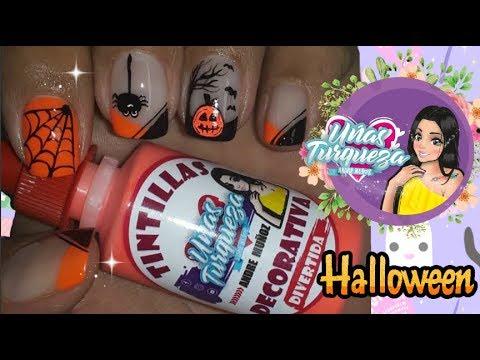 Diseños de uñas - Decoración de uñas Halloween - Halloween nail art