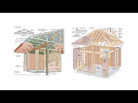 , title : '🔨Step By Step DIY Shed Plans-How To Build A Shed By Yourself In A Weekend-DIY Woodworking Projects'