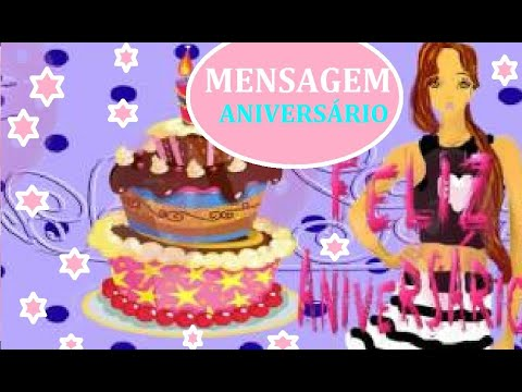 Mensagem de aniversário para garotas na moda    celular Smartphone