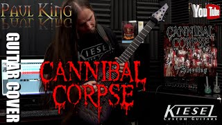 Video Cannibal Corpse - The Bleeding [ Guitar Cover] By: Paul King