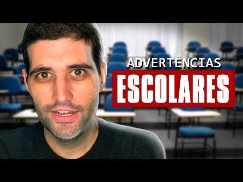 As melhores ADVERTÊNCIAS de escola do Brasil, você não vai acreditar