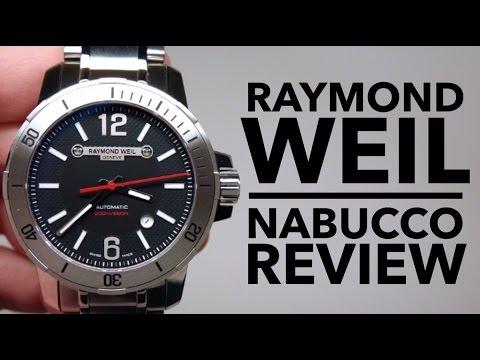RAYMOND WEIL NABUCCO MEN'S WATCH REVIEW MODEL: 3900-ST-05207