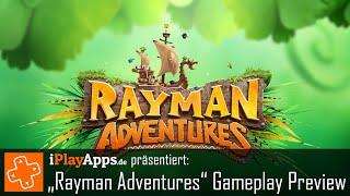 Rayman Adventures Gameplay Preview (von iPlayApps.de)