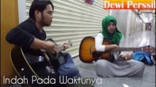 Video DEWI PERSIK ~ Indah Pada Waktunya ( guitar Cover ) Linda MP3, 3GP, MP4, WEBM, AVI, FLV September 2018