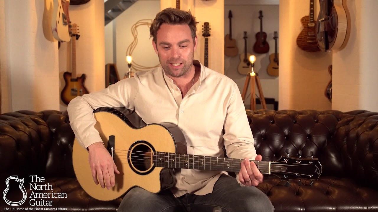 Ryan Nightingale Grand Soloist Acoustic Guitar, Wengé & Engelmann Spruce