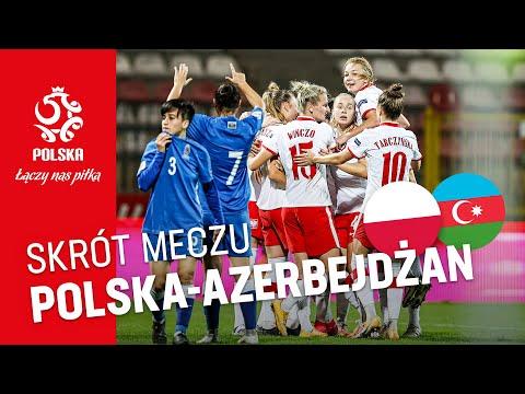 el. ME kobiet SKRÓT MECZU Polska - Azerbejdżan (3:0)