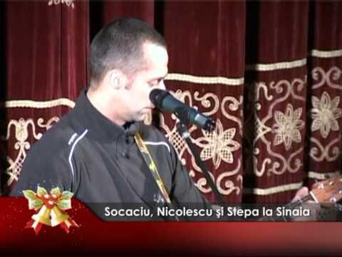 Socaciu, Nicolescu şi Stepa la Sinaia