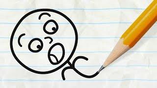 Video The Pencil vs Pencilmate! CLASSIC PENCILMATION COMPILATION - Cartoons for Children MP3, 3GP, MP4, WEBM, AVI, FLV Desember 2017