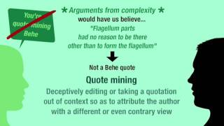Rebuttals: irreducible complexity