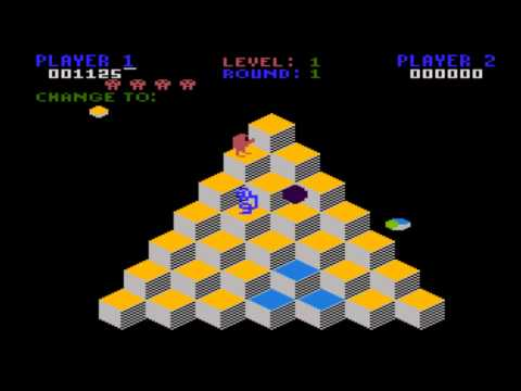 Q*Bert for the Atari 8-bit family