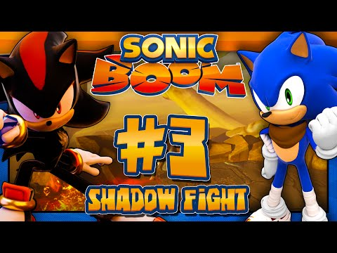 Sonic Boom Rise of Lyric Wii U (1080p) - Part 3 Shadow Fight