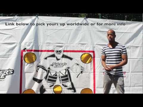 Snipers Edge Review Hockey Shooting Power & Accuracy Target Goal Tarp – Puck Trap