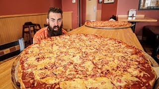 Video The Biggest Pizza Challenge I've Ever Seen | Trip To Buffalo Pt.2 MP3, 3GP, MP4, WEBM, AVI, FLV Desember 2018