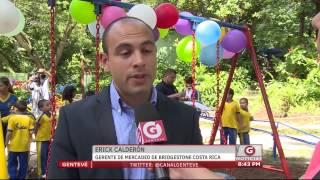 Gentevé Noticias - Fabricantes de Llantas donan juegos a Ecoparque Saburo Hirao