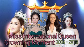 Video Miss International Queen Crowning Moment 2004-2018 MP3, 3GP, MP4, WEBM, AVI, FLV September 2018