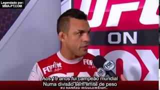 Vitor Belfort fala sobre Chris Weidman