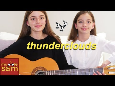 THUNDERCLOUDS -  Sia, Diplo, Labrinth Cover | Sophia And Bella