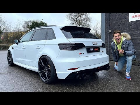 THIS AUDI RS3 ABT IS A SUPERCAR DESTROYER!