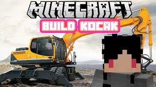 Video Minecraft Indonesia - Build Kocak (36) - Excavator! MP3, 3GP, MP4, WEBM, AVI, FLV Oktober 2017