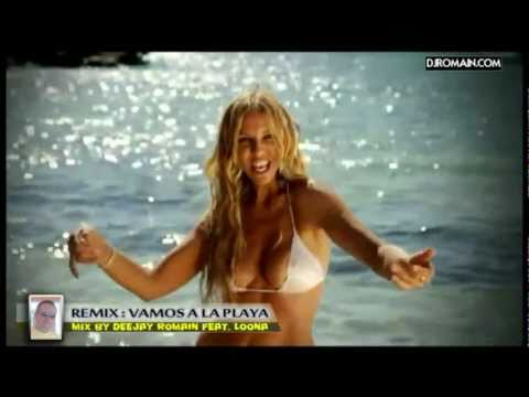 Loona - vamos a la playa  - remix version Electro 2013 by Deejay Romain