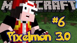 Minecraft: Pixelmon 3.0 - Episode 6 - RED BOSS PONYTA ATTACK