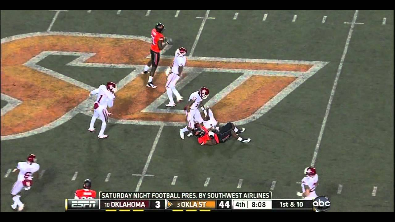 Tony Jefferson vs Texas, Oklahoma State, Iowa (2011)
