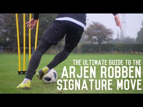 Arjen Robben Signature Move Tutorial | How To Cut Inside And Shoot For Wingers