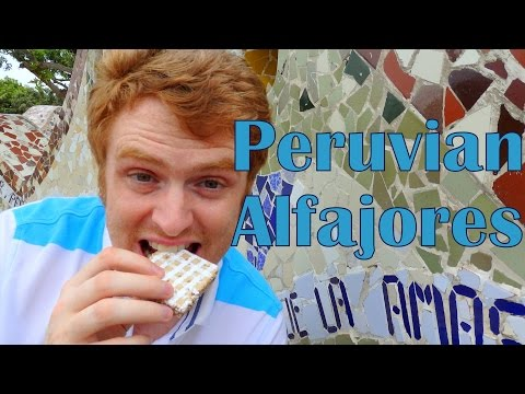 VIDEO: Eating Peruvian Alfajores