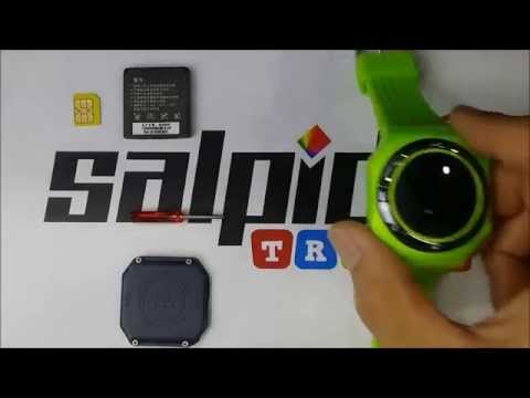 Salpido Traxx GPS Watch (3 Colour)