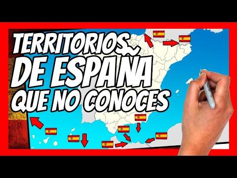 🌍 TERRITORIOS ESPAÑOLES  fuera de ESPAÑA 🌍   la ESPAÑA desconocida