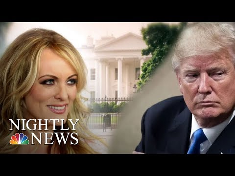 Stormy Daniels Sues President Donald Trump | NBC Nightly News