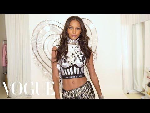 Victoria's Secret Angel Jasmine Tookes Reveals Her Punky Balmain Wings | Vogue