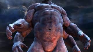 God of War 2 - Kratos vs Atlas Titan