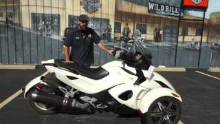 4. 2010 Can-Am Spyder RS-S SE5