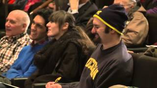2014 Ta-You Wu Lecture - Dennis Overbye - 02/12/14