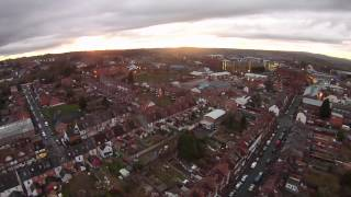 Redditch United Kingdom  city photo : Yuneec Q500 Typhoon, Redditch Town Centre, Worcestershire, UK