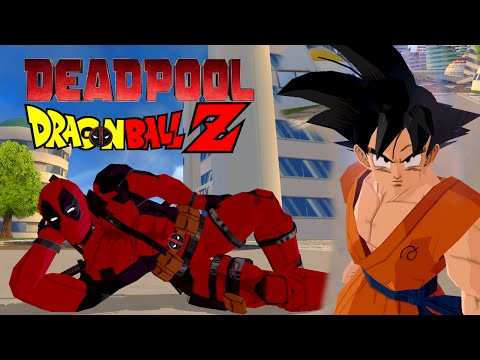 Deadpool Vs Goku | Deadpool Meets Dragon Ball Z | DBZ Tenkaichi 3 (MOD)