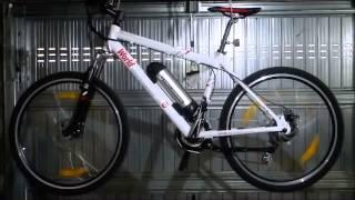 Test bike E.Adventure - scorrevolezza al banco