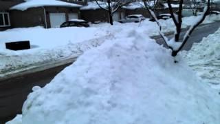 Brampton (ON) Canada  city images : Snow fall in Brampton Canada