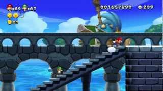 [ITA] Let's Play: New Super Mario Bros. U - Mondo 4: Acque Frizzanti [2/2]