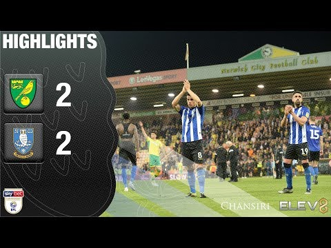 Norwich City 2 Sheffield Wednesday 2 | Extended Highlights | 2018/19