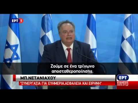 Ν. Κοτζιάς: Παράγοντας σταθερότητας οι σχέσεις Ισραήλ – Κύπρου – Ελλάδας