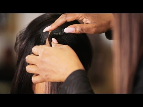 How to Make Invisible Part in Weave | Black Hairstyles