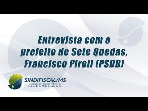 TV Sindifiscal-MS entrevista prefeito de Sete Quedas