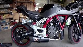 6. Hyosung GD250R Review with IXIL Exhaust and Fender Eliminater from Whygostock