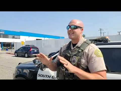 police respond code 3 for a threat of a gun