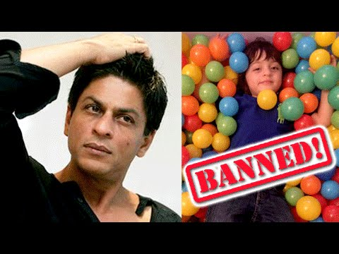 OMG !! Shahrukh Khan BANNED From Posting AbRam's P